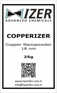 Copperizer Bakır Nanotoz 18nm 25g