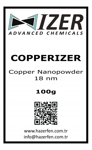 Copperizer Bakır Nanotoz 18nm 100g