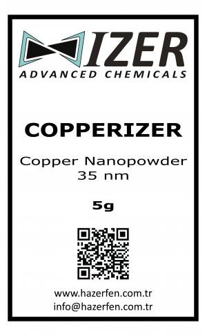 Copperizer Bakır Nanotoz 35nm 5g