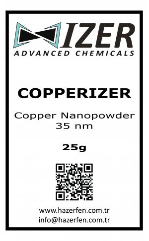 Copperizer Bakır Nanotoz 35nm 25g