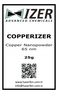 Copperizer Bakır Nanotoz 65nm 25g