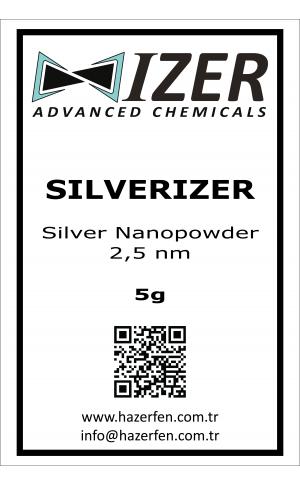 Silverizer - Gümüş Nanotoz 2,5nm 5g