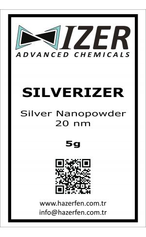 Silverizer - Gümüş Nanotoz 20nm 5g
