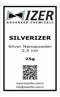 Silverizer - Gümüş Nanotoz 2,5nm 25g