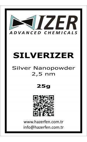 Silverizer - Gümüş Nanotoz 20nm 25g