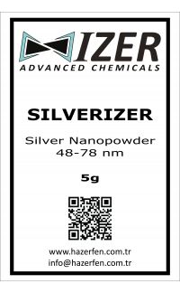 Silverizer - Gümüş Nanotoz 48-78nm 5g