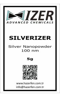 Silverizer - Gümüş Nanotoz 100nm 5g