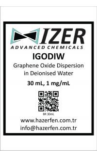 IGODIW - Deiyonize Su İçinde Grafen Oksit Dispersiyonu 30mL 1mg/mL