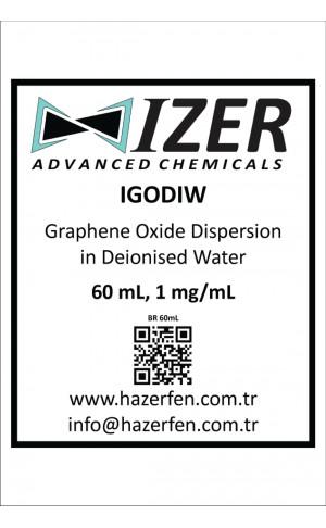 IGODIW - Deiyonize Su İçinde Grafen Oksit Dispersiyonu 60mL 1mg/mL