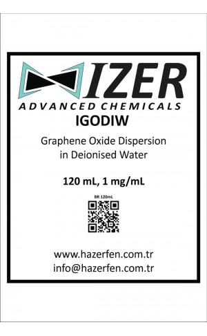 IGODIW - Deiyonize Su İçinde Grafen Oksit Dispersiyonu 120mL 1mg/mL
