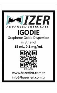 IGODIE - Etanol İçinde Grafen Oksit Dispersiyonu 15mL 0.1mg/mL