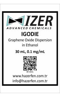 IGODIE - Etanol İçinde Grafen Oksit Dispersiyonu 30mL 0.1mg/mL