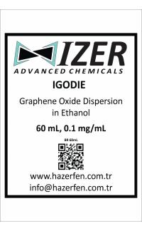 IGODIE - Etanol İçinde Grafen Oksit Dispersiyonu 60mL 0.1mg/mL
