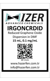IRGONCRDID - DMF İçinde Kimyasal İndirgenmiş Grafen Oksit Dispersiyou 15mL 0.1mg/mL