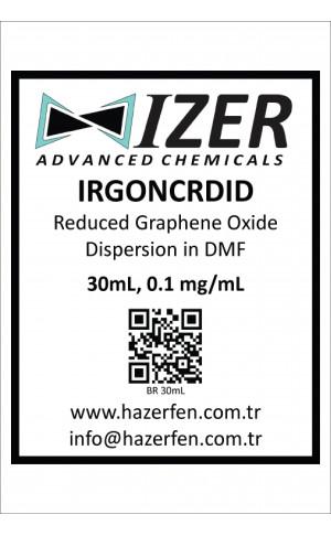 IRGONCRDID - DMF İçinde Kimyasal İndirgenmiş Grafen Oksit Dispersiyou 30mL 0.1mg/mL