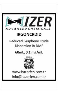 IRGONCRDID - DMF İçinde Kimyasal İndirgenmiş Grafen Oksit Dispersiyou 60mL 0.1mg/mL