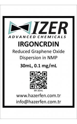 IRGONCRDIN - NMP İçinde Kimyasal İndirgenmiş Grafen Oksit Dispersiyou 30mL 0.1mg/mL