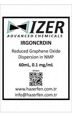 IRGONCRDIN - NMP İçinde Kimyasal İndirgenmiş Grafen Oksit Dispersiyou 60mL 0.1mg/mL