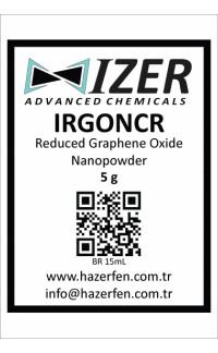 IRGONCR - Kimyasal İndirgenmiş Grafen Oksit Nanotoz 5g