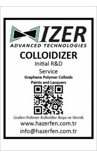 Grafen Destekli Kolloidal Sistemler Başlangıç ARGE Hizmeti